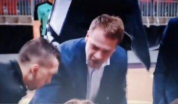Ο προπονητής της Ρίγα έπαθε… Ομπράντοβιτς: «Άντε γαμ…ε»! (VIDEO)