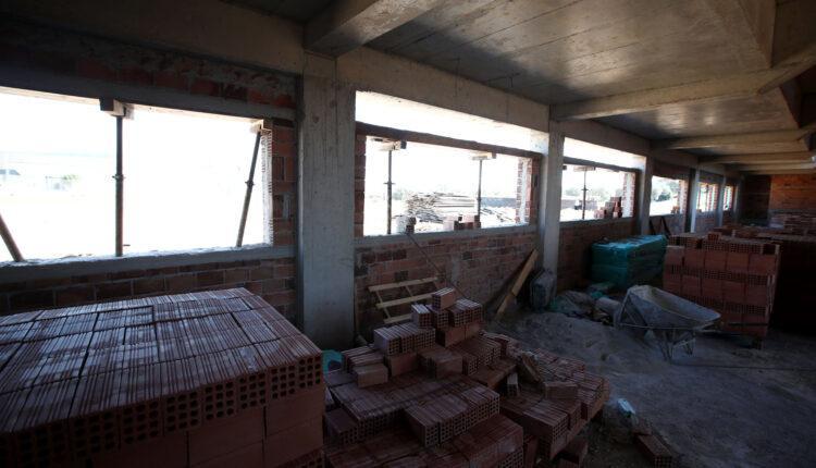AEK: Εικόνες από την... καρδιά της νέας κερκίδας στα Σπάτα-Επιθεώρησε ο Μελισσανίδης