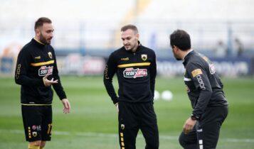 ΑΕΚ: Προφυλάχθηκε ο Μπακάκης -Μπαίνει την επόμενη εβδομάδα ο Τάνκοβιτς
