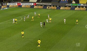 Ντόρτμουντ - Χέρτα 2-0: Μπορεί και χωρίς Χάαλαντ (VIDEO)