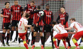 Λειψία-Αιντραχτ Φρανκφούρτης 1-1: «Κόλλησαν» στην ισοπαλία οι δυο ομάδες (VIDEO)