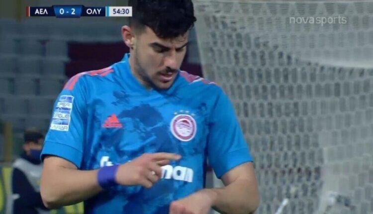 Λάρισα-Ολυμπιακός: 0-2 με τον Ανδρούτσο (VIDEO)