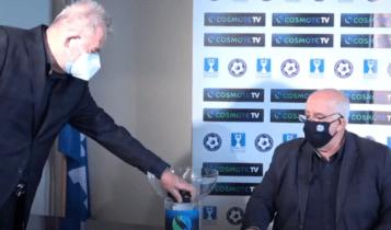 Κύπελλο Ελλάδας-Ολυμπιακός: O Αγραφιώτης έπιανε τα μπαλάκια για να δει αν είναι κρύα! (VIDEO)