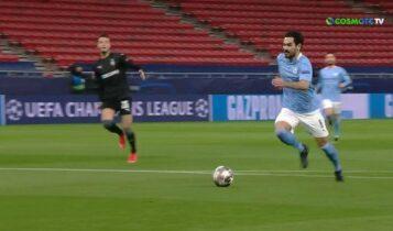Μάντσεστερ Σίτι-Γκλάντμπαχ: Καθάρισε 2-0 στο ημίχρονο (VIDEO)