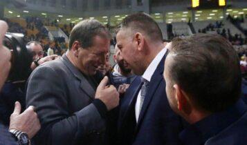 ΑΕΚ: Τρελάθηκε ο Αγγελόπουλος από το έπος, αποθέωσε τον Παπαθεοδώρου στο φινάλε