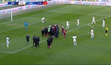 Τορίνο-Σασουόλο: Απίθανη ανατροπή με 3 γκολ σε 15'! (VIDEO)