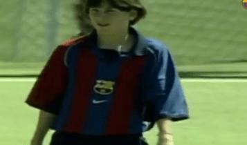 Το viral VIDEO της Μπαρτσελόνα με τα πρώτα βήματα του Μέσι