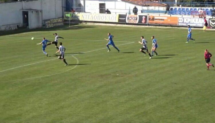 Απόλλων Λάρισας - ΟΦ Ιεράπετρας: Το 1-1 με υπέροχη λόμπα ο Αποστολίδης! (VIDEO)