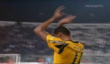 ΠΑΟΚ-ΑΕΚ: Η Τούμπα υποκλίνεται στον σπουδαίο Ριβάλντο μετά το 0-4 (VIDEO)