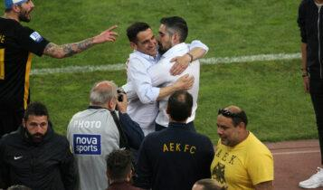 «Λύμπε» για Χιμένεθ: «Αν η ΑΕΚ θέλει να παίζει το ποδόσφαιρο του Μανόλο, πρέπει να τον στηρίξει»