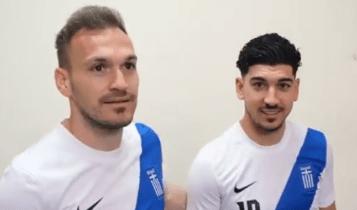 Εθνική ομάδα: Η επίσημη φωτογράφιση για τα προκριματικά του Μουντιάλ 2022 (VIDEO)