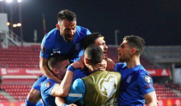 Ηρωική ισοπαλία (1-1) της Εθνικής Ελλάδας με την Ισπανία -Πρώτος βαθμός στα προκριματικά!