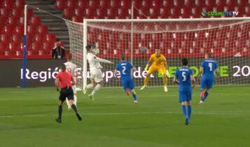 Ισπανία-Ελλάδα: Εκανε το 1-0 ο Μοράτα (VIDEO)