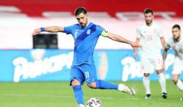 Μπακασέτας: Εχει συμμετοχή και στα 5 τελευταία επίσημα γκολ της Εθνικής (VIDEO)