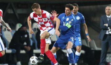 Προκριματικά Μουντιάλ 2022: Εξαιρετική η Κύπρος, «λύγισε» σε μία φάση και έχασε 1-0 στην Κροατία (VIDEO)