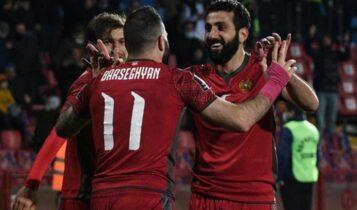 Προκριματικά Μουντιάλ 2022: Κυνική η Αρμενία, νίκησε 2-0 την Ισλανδία (VIDEO)