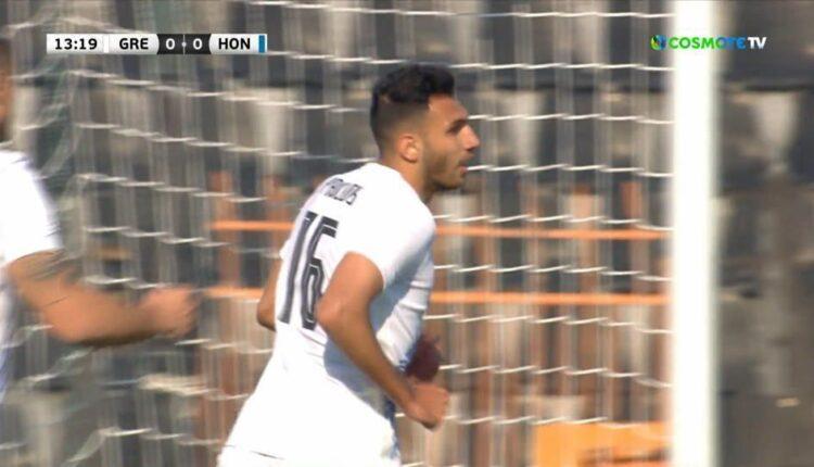 Ελλάδα-Ονδούρα: Εκανε το 1-0 ο Παυλίδης (VIDEO)