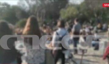 Χαμός σήμερα στην Ακρόπολη με συνωστισμό! (VIDEO)