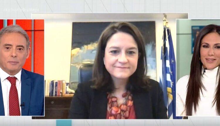 Κεραμέως: «Στόχος το άνοιγμα των σχολείων στις 5 Απριλίου-Με self tests και αυστηρά μέτρα προστασίας» (VIDEO)