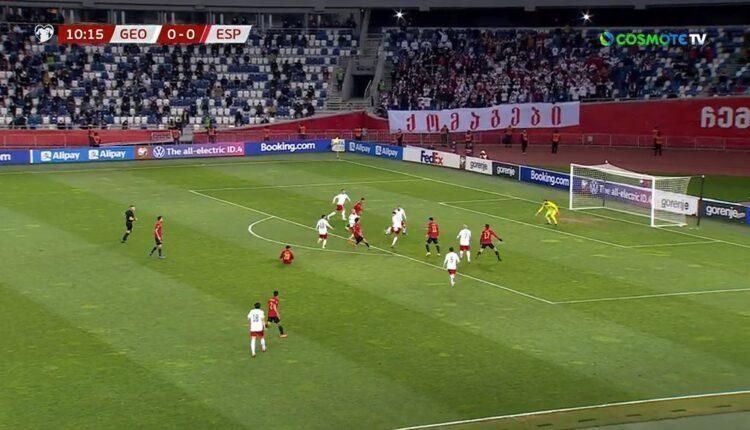 15.000 θεατές στο Γεωργία-Ισπανία, στην Ελλάδα όλα κλειστά...