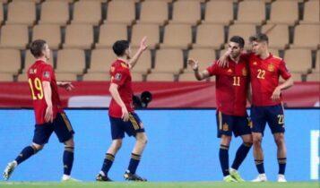 Προκριματικά Μουντιάλ 2022: Τριάρα στο Κόσοβο και κορυφή για Ισπανία (VIDEO)