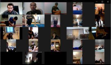 ΑΕΚ Κ15: Προπόνηση ενδυνάμωσης μέσω Zoom (ΦΩΤΟ)