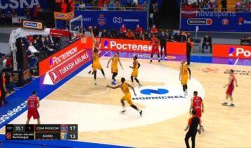 ΤΣΣΚΑ Μόσχας-Χίμκι: Το τρομερό poster κάρφωμα του Βόιτμαν (VIDEO)
