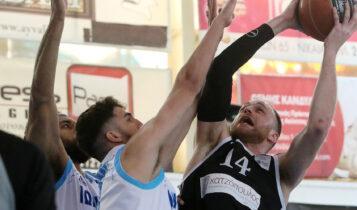Basket League: Ο ΠΑΟΚ «εκτέλεσε»  (84-83) τον Ιωνικό στο τέλος (VIDEO)