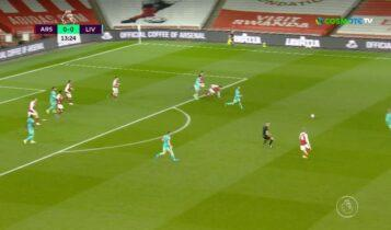 Premier League: Η Λίβερπουλ 3-0 την Αρσεναλ (VIDEO)