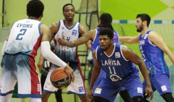 Basket League: Μεγάλη ανάσα για το Μεσολόγγι που νίκησε 79-77 τη Λάρισα (VIDEO)