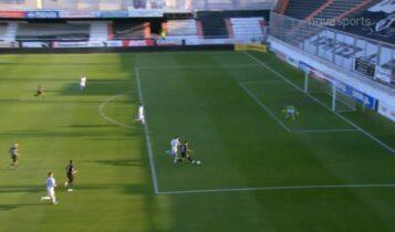 ΟΦΗ-ΠΑΣ Γιάννινα: Γκολ με φοβερή λόμπα του Σαρδινέρο οι Κρητικοί (VIDEO)