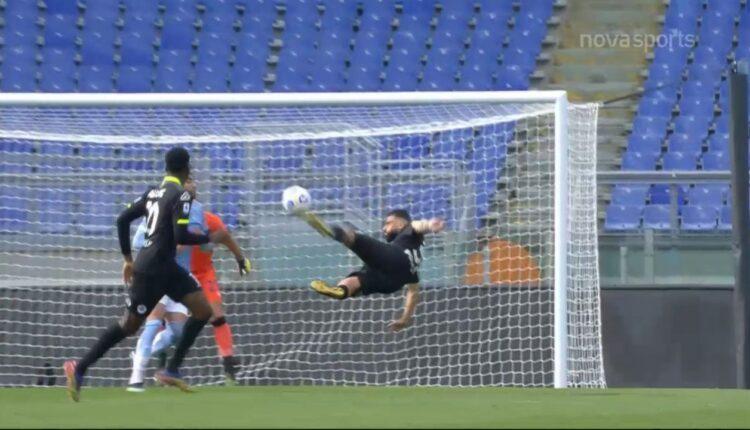 Ντανιέλε Βέρντε: Εβαλε το γκολ της χρονιάς στη Serie A με άπιαστο «ψαλιδάκι» (VIDEO)