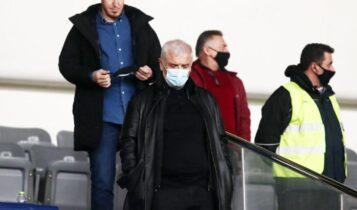 ΑΕΚ-Ολυμπιακός: Έφυγε ο Μελισσανίδης από το ΟΑΚΑ στο ημίχρονο!