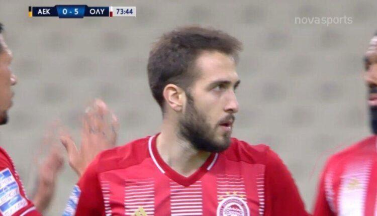 ΑΕΚ-Ολυμπιακός: Της κάνουν πλάκα, 0-5 ο Φορτούνης (VIDEO)