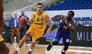 Βαθμολογία Basket League: Χάνει την 2η θέση η ΑΕΚ
