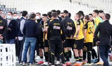 Μελισσανίδης: Αναζητά ευθύνες για την είσοδο οπαδών και το δημόσιο κράξιμο παικτών