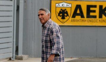 Σεραφείδης: «Προσπαθούν να εξοντώσουν την ΑΕΚ και τον Μελισσανίδη αυτοί που σκότωσαν το ποδόσφαιρο»