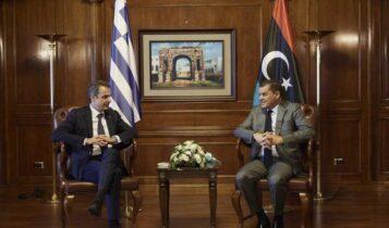 Μητσοτάκης: «Σημαντικό να ακυρωθεί το τουρκολιβυκό μνημόνιο»
