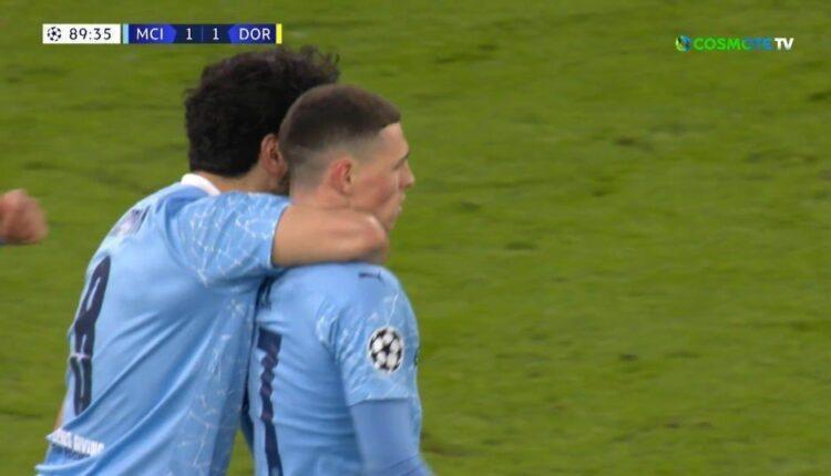 Champions League: Προβάδισμα για την Μάντσεστερ Σίτι, 2-1 την Ντόρτμουντ (VIDEO)