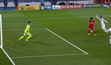 Ρεάλ Μαδρίτης-Λίβερπουλ: Γκολ Σάλαχ και 2-1 (VIDEO)