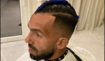 Ο Τέβες έβαψε μπλε το μαλλί του και... τρέλανε τους οπαδούς της Μπόκα (ΦΩΤΟ)