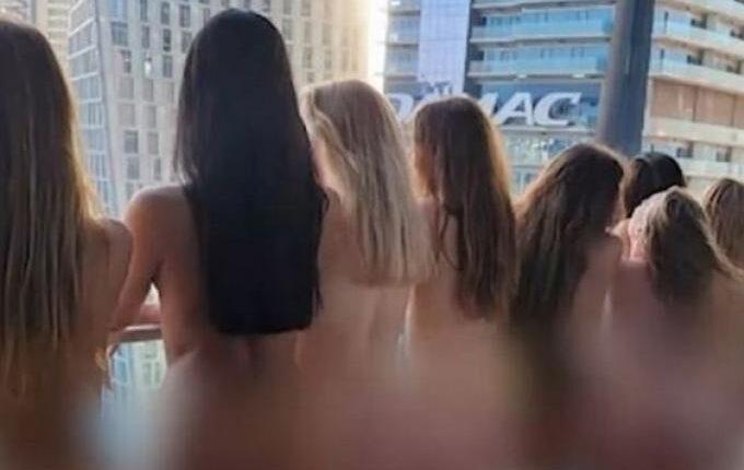 Ντουμπάι: Απέλαση για τα γυμνά μοντέλα που πόζαραν σε μπαλκόνι (VIDEO)