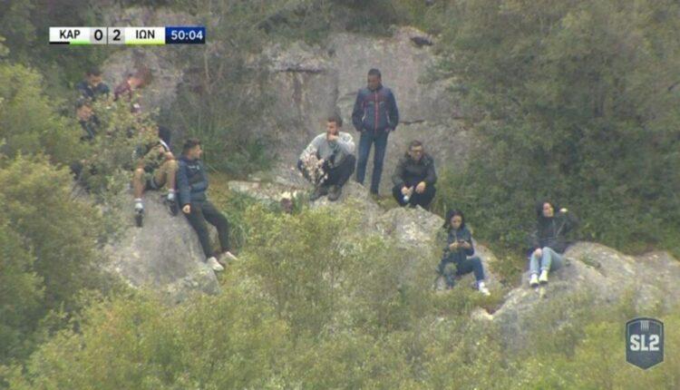 Αρτα: Πήραν τα...βουνά να δουν το Καραϊσκάκης-Ιωνικός! (VIDEO)