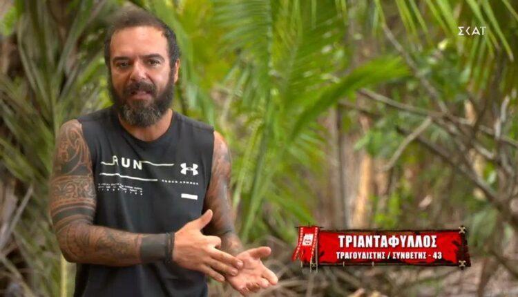 Survivor 4-Τριαντάφυλλος: «Ο Ηλίας είναι ευάλωτος και αγαθούλης» (VIDEO)