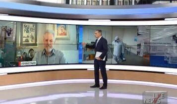 Καπραβέλος: «Το άνοιγμα των σχολείων μπορεί να οδηγήσει σε έκρηξη της πανδημίας» (VIDEO)