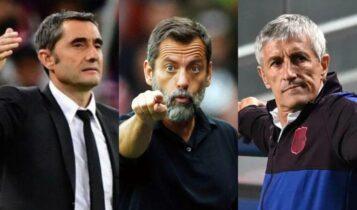 ΑΕΚ: Η λίστα με 15 ελεύθερους Ισπανούς προπονητές