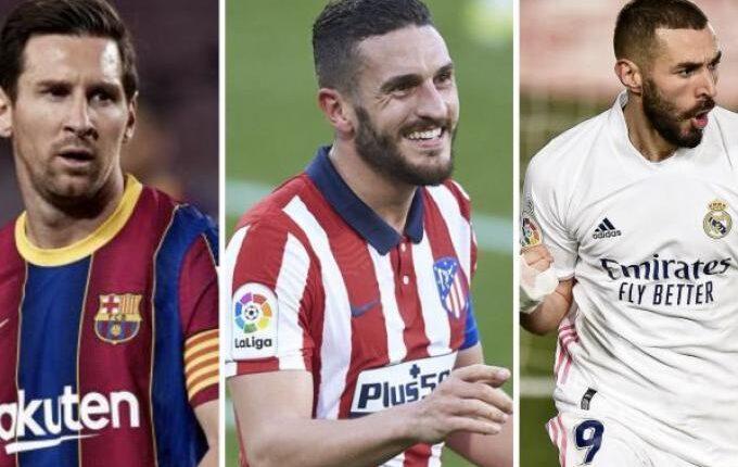 La Liga: «Φωτιά» στην κορυφή -Τα παιχνίδια που απομένουν για Ρεάλ, Ατλέτικο, Μπαρτσελόνα