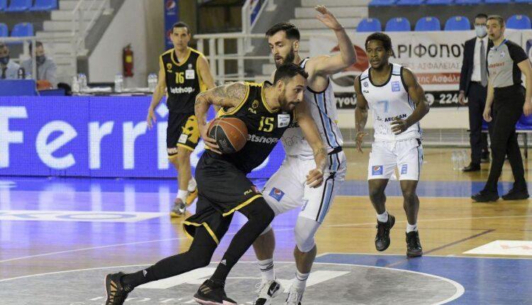 Βαθμολογία Basket League: Χάνει και την 3η θέση η ΑΕΚ