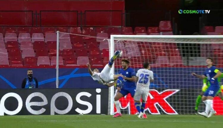 Champions League: Η γκολάρα του Ταρεμί από όλες τις λήψεις (VIDEO)