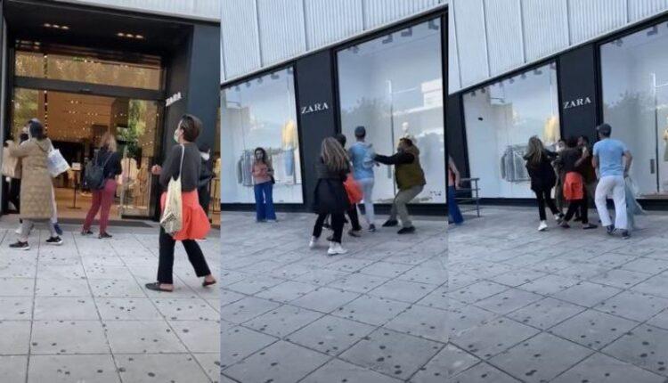 Γλυφάδα: Της έστησε καρτέρι έξω από τα Zara και της επιτέθηκε (VIDEO)